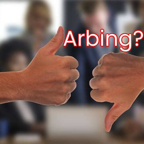 Why is arbitrage betting or arbing bad?