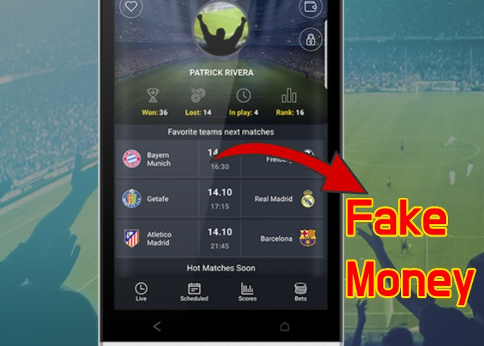 Apps to Practice Sports Betting with Fake Money